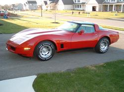 d_wright_one 1982 Chevrolet Corvette
