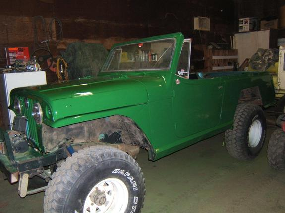 Another canyoncrawler 1967 Jeep Commando post... - 6059205