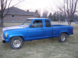 StandardFord 1987 Ford Ranger Regular Cab