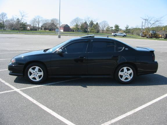 pitch black ss 2004 chevrolet impala specs photos. Black Bedroom Furniture Sets. Home Design Ideas