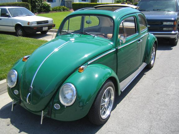 gr33nf1re 1961 Volkswagen Beetle Specs, Photos, Modification Info at