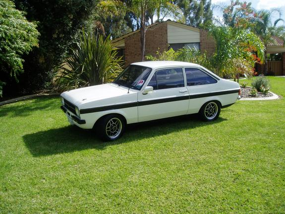 exotic ford escort perth