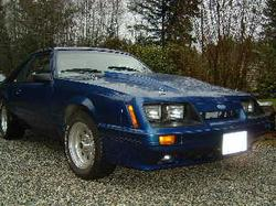86bluecobras 1986 Ford Mustang