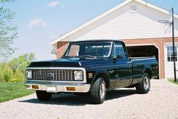 72BlckButy 1972 Chevrolet C/K Pick-Up