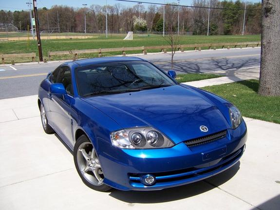 ravensfan 39 s 2004 hyundai tiburon in pasadena md. Black Bedroom Furniture Sets. Home Design Ideas