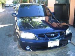 blueaccentSTs 2001 Hyundai Accent