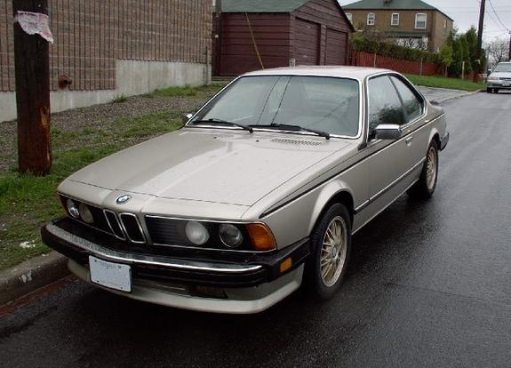 chevale 1986 BMW 6 Series 6195529