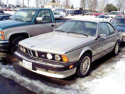chevale 1986 BMW 6 Series 6195547