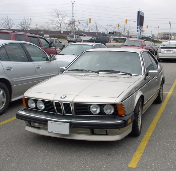 chevale 1986 BMW 6 Series 6195548