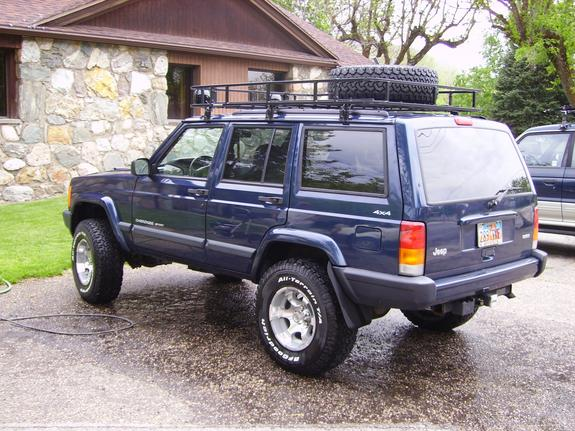 Perfect This Is My Jeep Cherokee. It Is A Dark Blue With Exterior And Interior  Upgrades