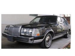 BlueRinses 1985 Lincoln Continental