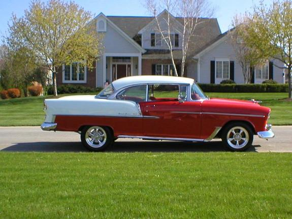 Another asfltetr 1955 Chevrolet Bel Air post... - 6218144