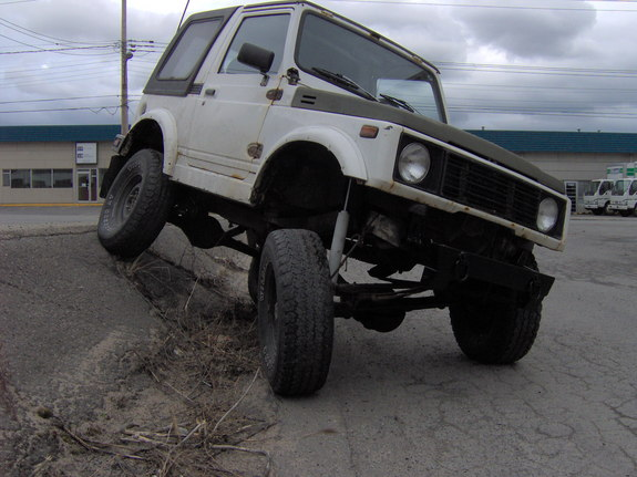 Another dyevzuk 1987 Suzuki Samurai post... - 6225135