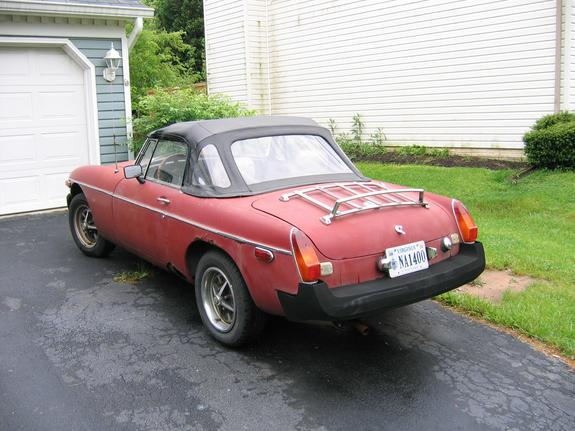 Another offrdsailthesky 1978 MG MGB post... - 6229306