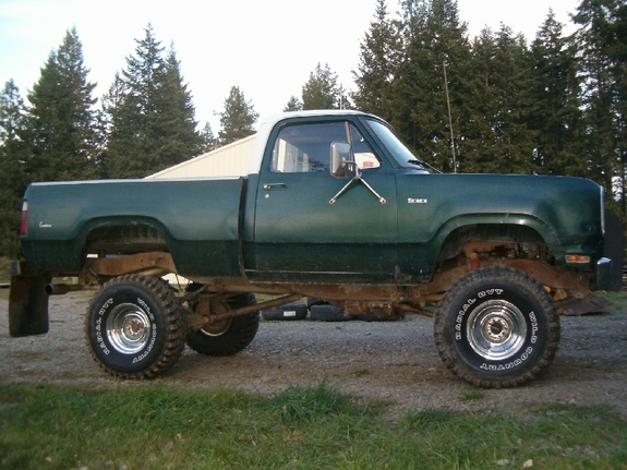spittindurt's 1976 Dodge W-Series Pickup