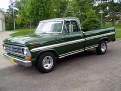 Large on 1972 Dodge Ram