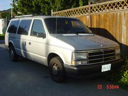 carriall 1988 Dodge Caravan Cargo