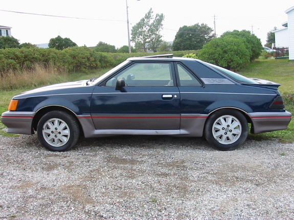 Curbside Classic: Ford's Ugly Little Sin: The EXP - The ...  |1986 Ford Exp Interior