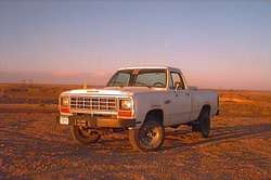69fordflatbed 1981 Dodge D150 Club Cab