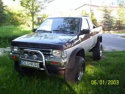 blachas 1991 Nissan Regular Cab