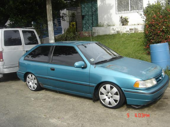 Joker69er 1994 Hyundai Excel Specs  Photos  Modification