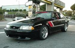 Black306 1990 Ford Mustang