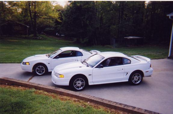White98gt S 1998 Ford Mustang In Lexington Nc