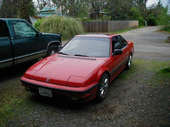 Large on 1988 honda prelude