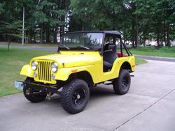 JohnBracketts 1971 Jeep CJ5