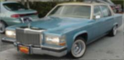 13inches 1981 Cadillac DeVille