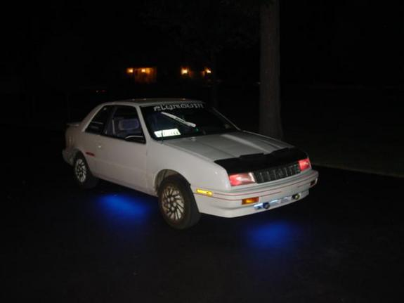 Another glowduster 1992 Plymouth Sundance post... - 142167