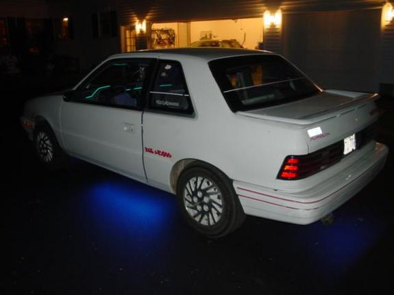 Another glowduster 1992 Plymouth Sundance post... - 142168
