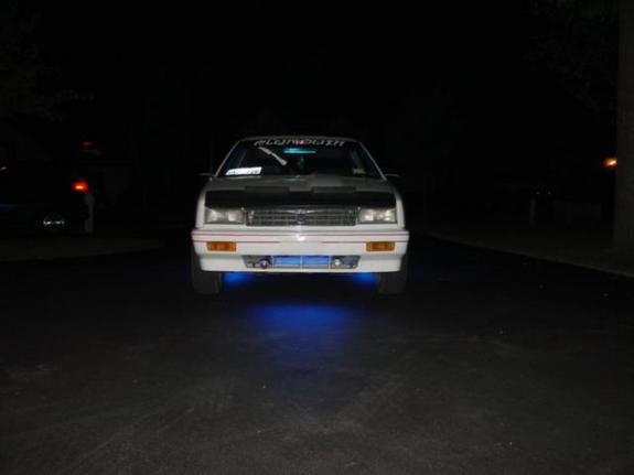 Another glowduster 1992 Plymouth Sundance post... - 142169