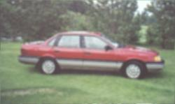 neontempo69 1991 Ford Tempo