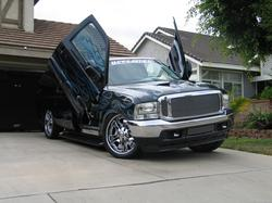 EscaladePushinHP 2000 Ford Excursion