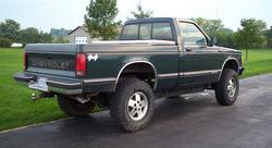 kxhonda 1993 Chevrolet S10 Regular Cab