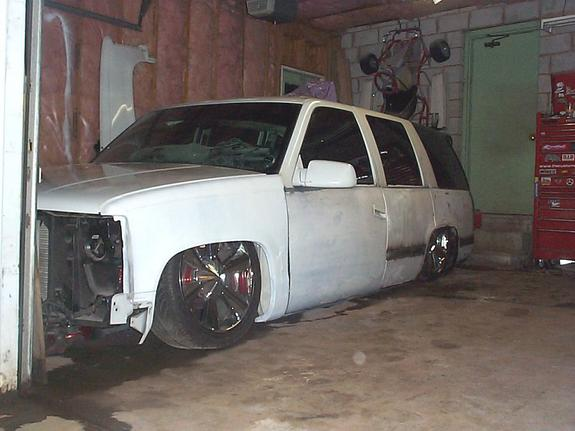 bagged20inchhoe 1999 Chevrolet Tahoe