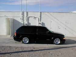 black2chrome 2001 Chevrolet Blazer