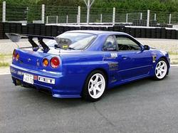 2000CIVIC 1999 Nissan Skyline