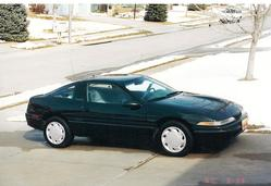 90laserRSTstock 1990 Plymouth Laser