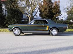 stock95cherokee 1968 Ford Mustang