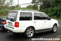 hawaiiheats 2001 Lincoln Navigator