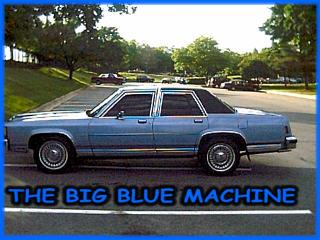 BIGHAWK 1985 Ford LTD Crown Victoria 383282