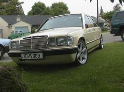 Rawnyrons 1984 Mercedes-Benz 190-Class