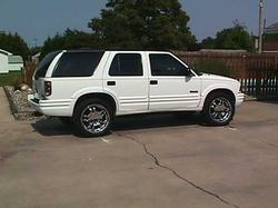 stickwood 1997 Oldsmobile Bravada