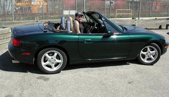 RoadConeClown 1999 Mazda Miata MX-5