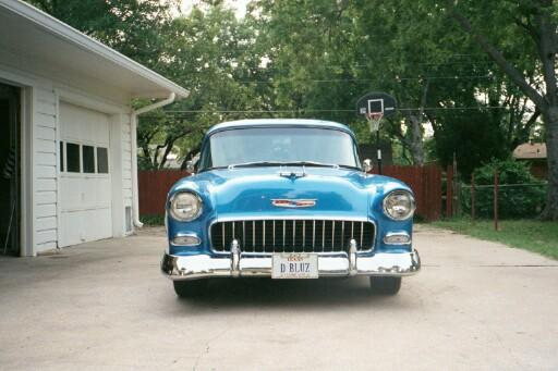 Another badnblue 1955 Chevrolet Bel Air post... - 408265