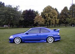 bluecivic455hp 2000 Honda Civic
