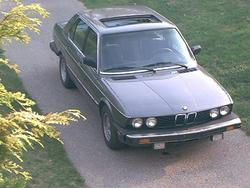 nicebmw528e 1985 BMW 5 Series