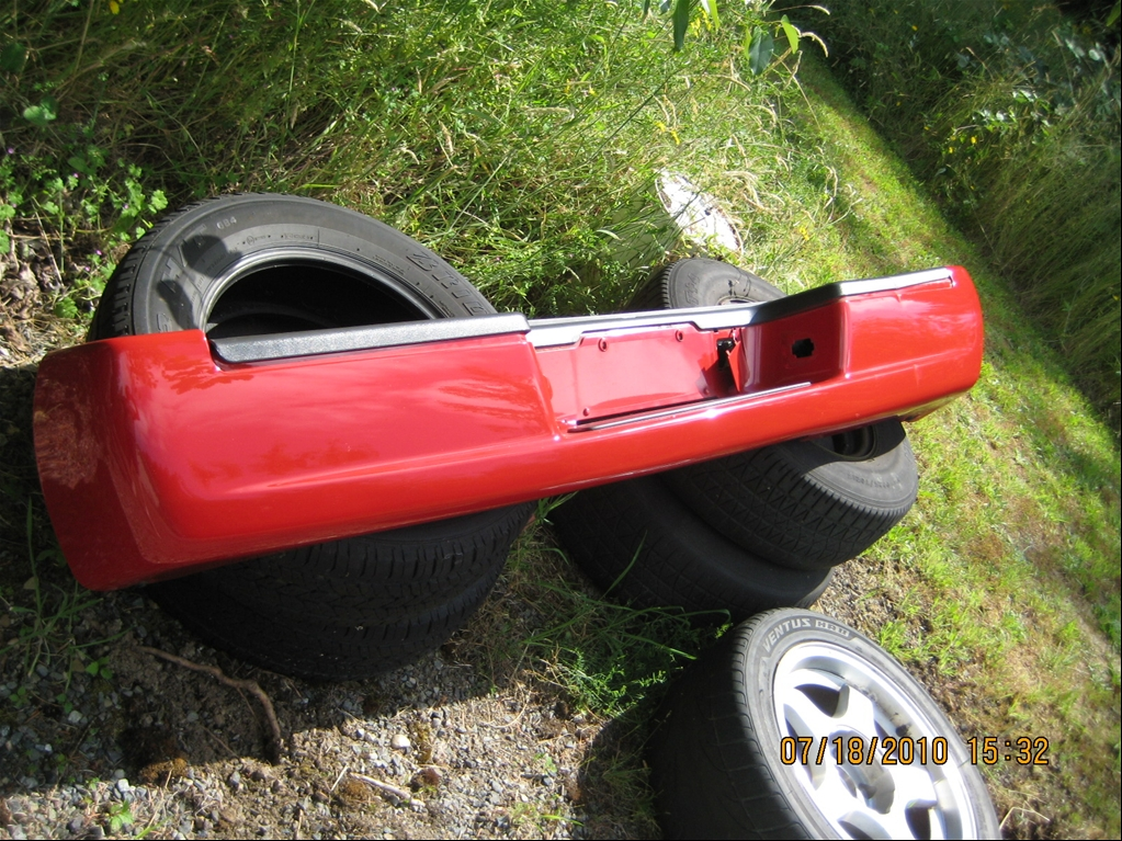 2005 Chevy Silverado For Sale >> F/S V-Red Rear Bumper & Cover - For Sale/ Wanted ...